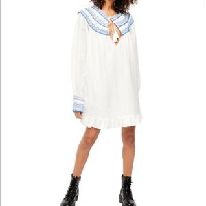 Free People Erin Embroidered Dress